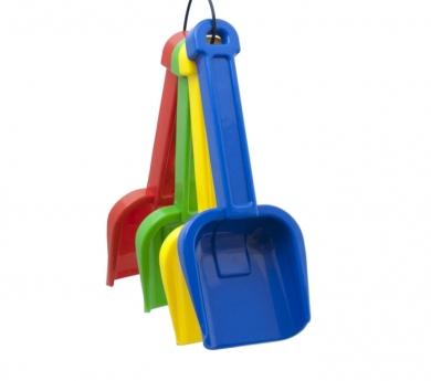 Conjunt de 4 pales de plàstic