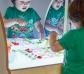 Taula de llum amb mirall i moble