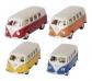 Furgoneta VW T1 metàl·lica de joguina