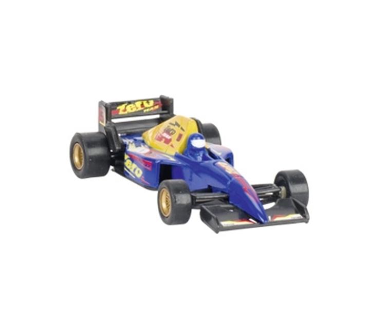 Cotxe de carreres metàl·lic de juguina