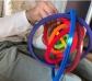Círculos concéntricos con anillos
