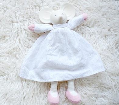 Doudou Meiya de caucho natural y algodón