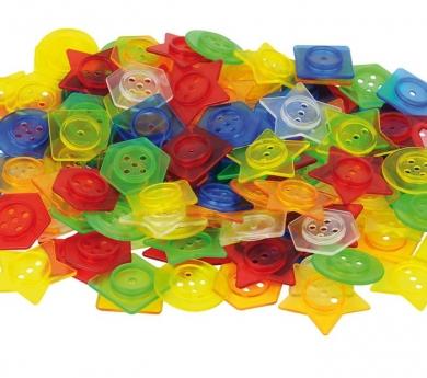Botons translúcids encaixables i translúcids
