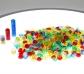 500 contadores apilables translúcidos