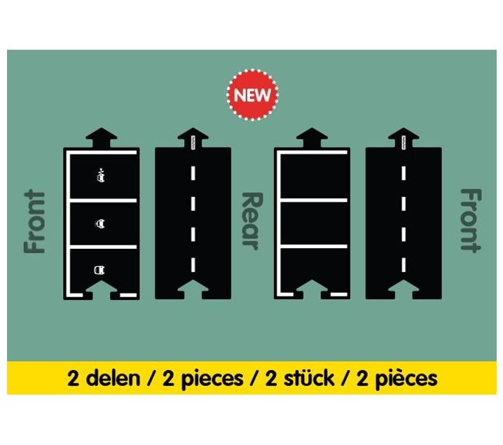 Carretera flexible extensió Parking