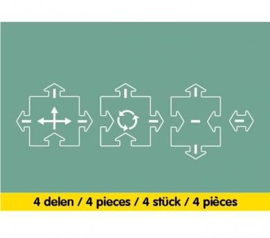 Carretera flexible extensió encreuaments