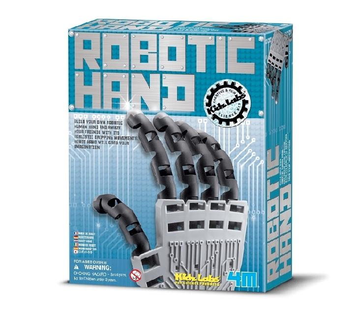 Construiex una ma robòtica