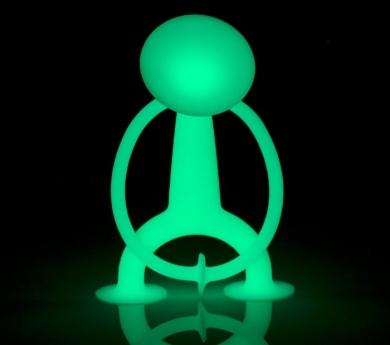 oogi fluorescente