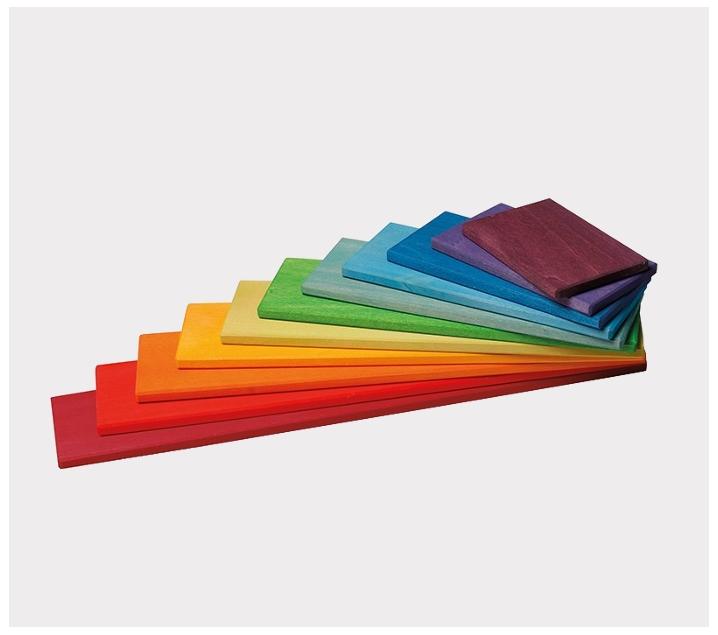 Tablons de colors per arc de sant martí Waldorf