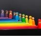 Tablones de colores para arco iris Waldorf