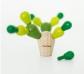 Mini cactus de equilibrio
