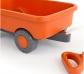 Carro vagón de plástico reciclado