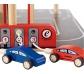 Parking de juguete de madera de 4 plantas