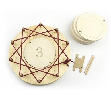 Circulo Waldorf para multiplicaciones