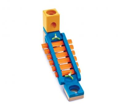 Vía xilofónica para circuitos Quadrilla