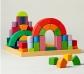 62 piezas de construcción Romanesque