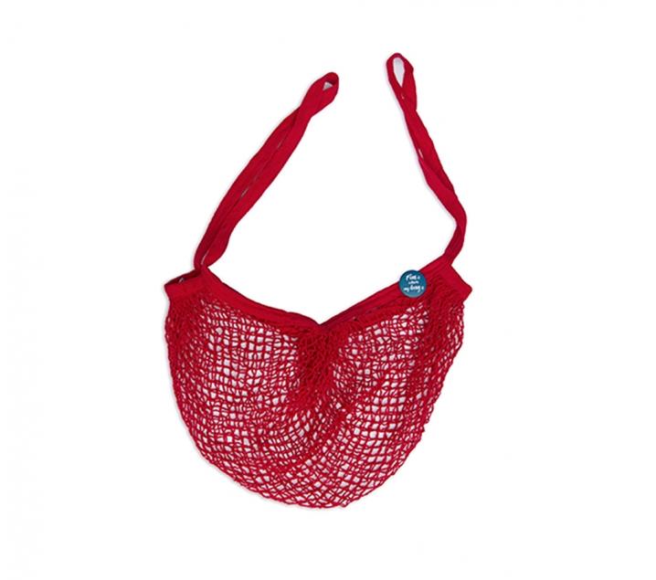 Bolsa de red Fun Bag roja