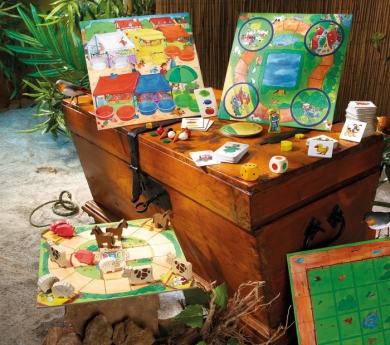 Gran col·lecció de 10 jocs d'Haba