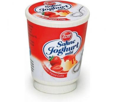 Iogurt de maduixa de joguina