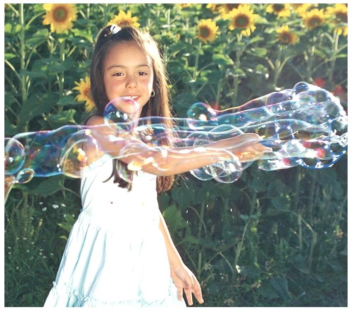 Juego de burbujas gigantes pustefix