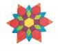 250 Blocs gomètrics - pattern blocks