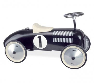 Coche metálico vintage para niños y niñas