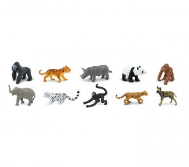 Animals en perill d'exticnió de joguina