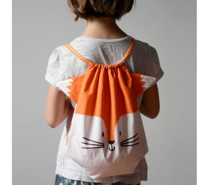 Kit de costura Motxilla Guineu