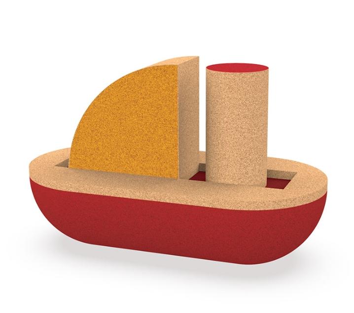 Barco de 3 piezas de corcho