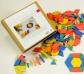 250 Bloques geométricos Rewood - pattern blocks