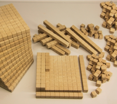 Base 10 con marcado 432 piezas ReWood