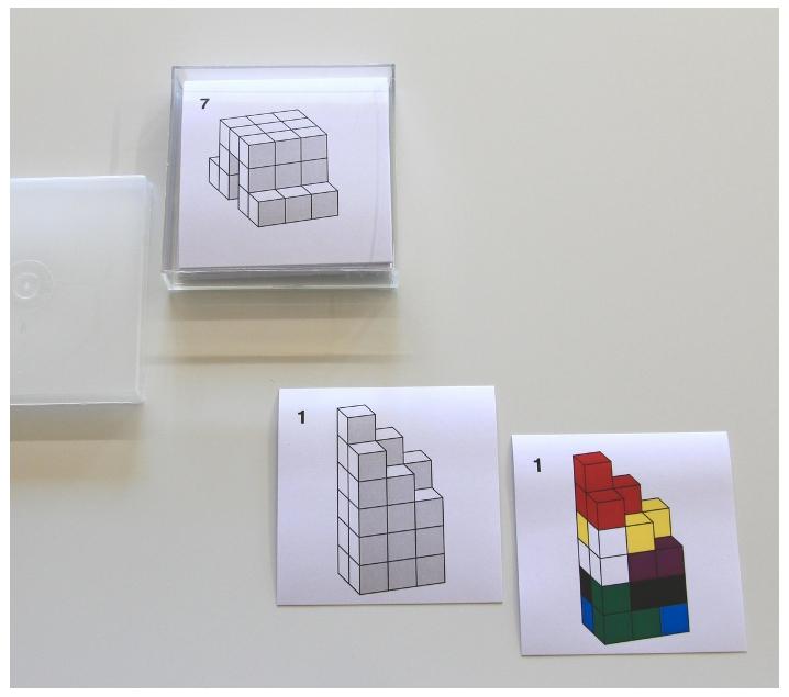24 tarjetas de actividades para el cubo Soma