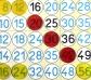 Juego de mesa Las tablas de multiplicar