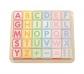 Cubos con letras, puzzle, números y figuras.