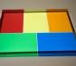 Acetats translúcids de colors