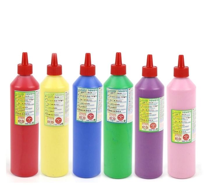 Pintura de dits natural |colors individuals 500 ml.