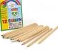 12 lápices de colores en caja de cartón