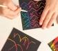Notas mágicas arco iris