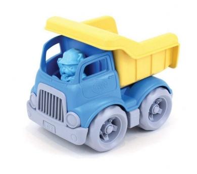 Camión de carga de plástico reciclaje y con volquete