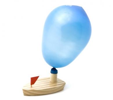 Barqueta de Fusta amb Globus