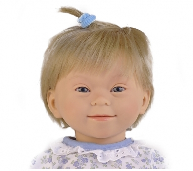 Muñeca con síndrome de Down