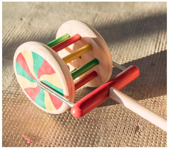 Roda de fusta Noria