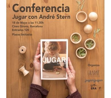 Entrada Adult Conferència Andrè Stern 18 de maig