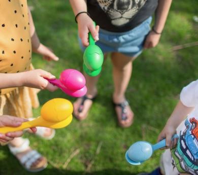 Carrera de huevos reinventada