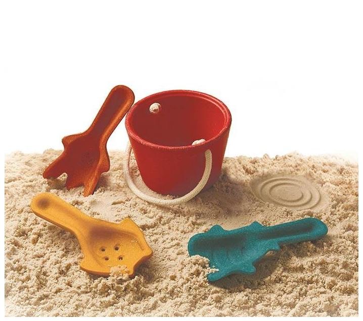 Conjunto de 4 piezas para arena y agua