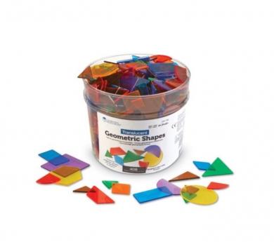 400 blcs geomètrics - Pattern blocks translúcids