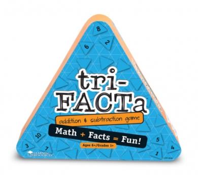 Tri-Facta juego de sumes i restes
