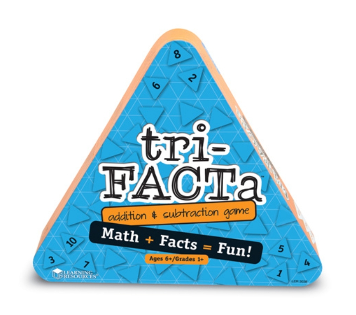 Tri-Facta juego para sumar y restar