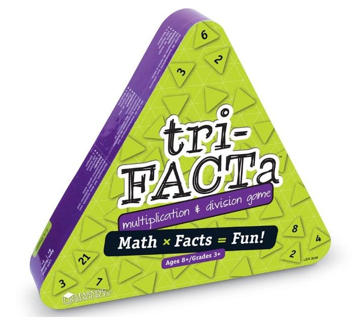 Tri-Facta joc per multiplicar i dividir