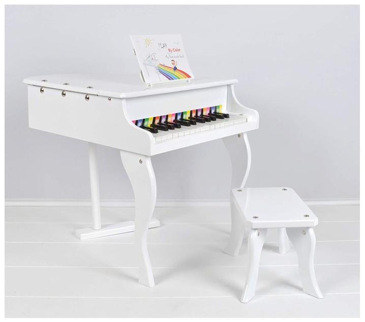 Pequeño piano de cola eléctrico